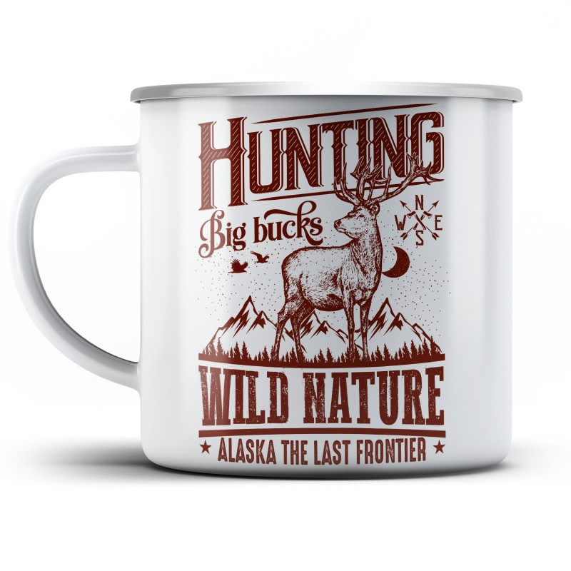 Plechový hrnek Wild nature
